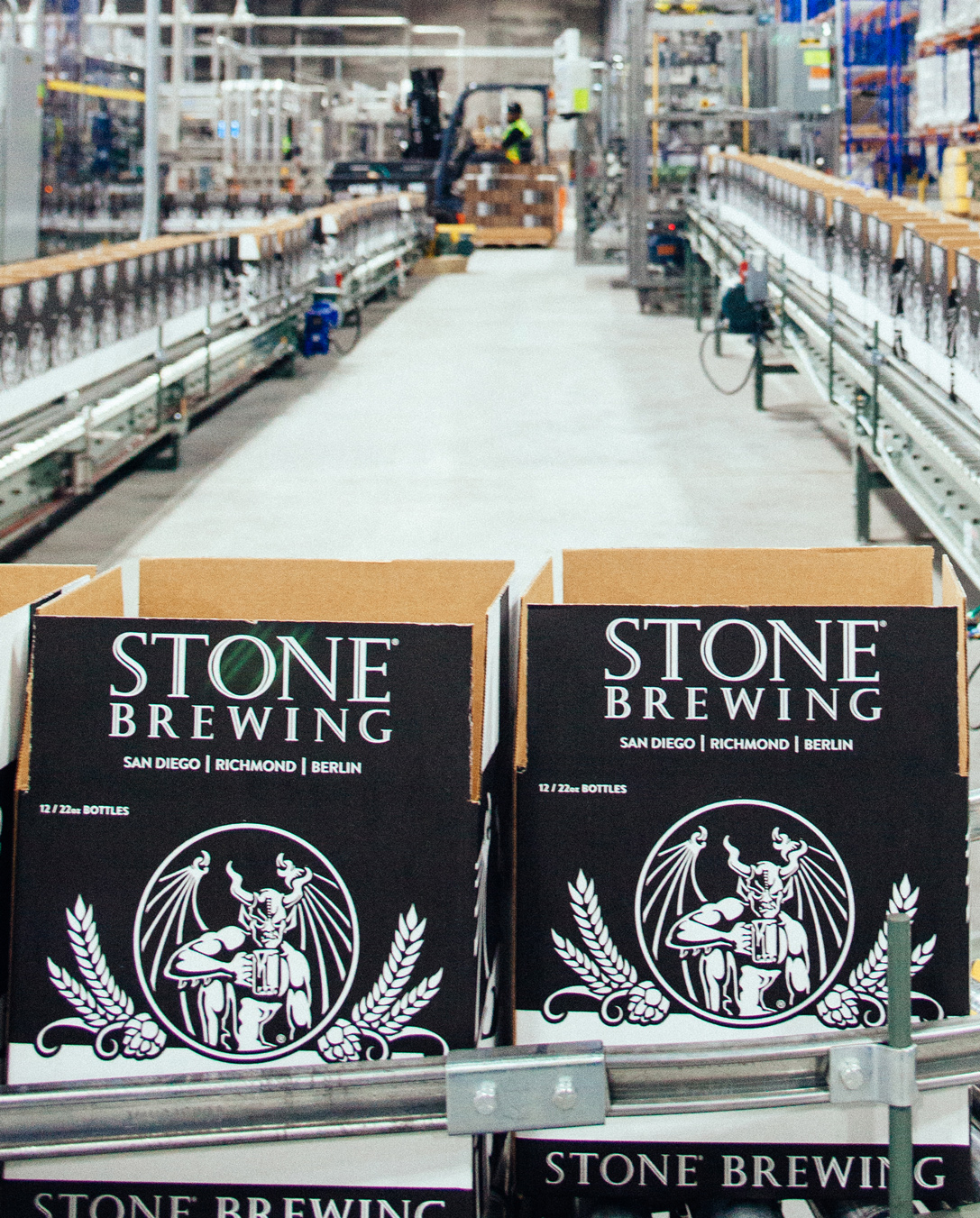 Stone Brewing in Richmond, a Food and Beverage Industrial Client of ITAC