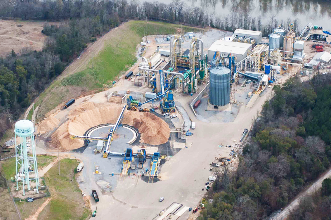 Biofuels Industrial Plant